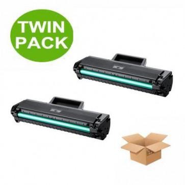 2 Multipack Samsung MLT-D1042S High Quality  Laser Toners. Includes 2 Black