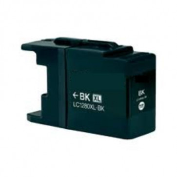 Brother LC1280 XLBK Black, High Yield Compatible Ink Cartridge