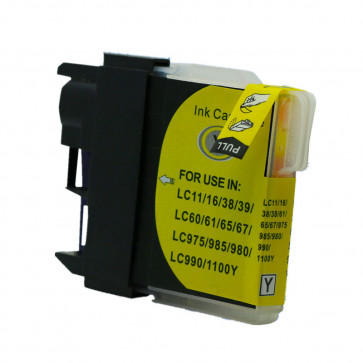 Brother LC980Y Yellow, High Quality Compatible Ink Cartridge