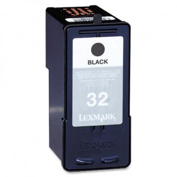 Lexmark 32 (18C0032E) Black, High Quality Remanufactured Ink Cartridge