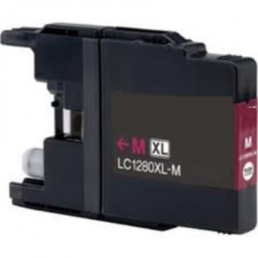 Brother LC1280 XLM Magenta, High Yield Compatible Ink Cartridge