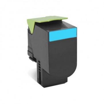 Lexmark 80C2XCE Cyan, High Quality Remanufactured Laser Toner