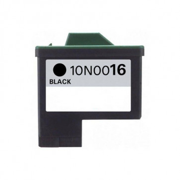 Lexmark 16 (10N0016E) Black, High Quality Remanufactured Ink Cartridge