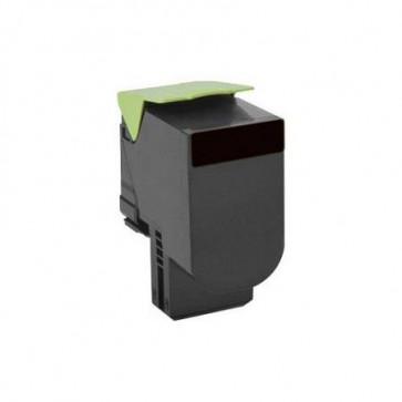 Lexmark 80C2HK0 Black, High Yield Remanufactured Laser Toner