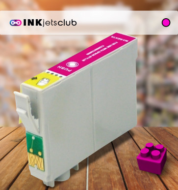 Epson T1293 (C13T12934011) Magenta, High Yield Remanufactured Ink Cartridge