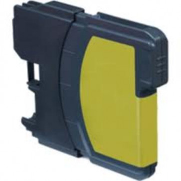 Brother LC1280 XLY Yellow, High Yield Compatible Ink Cartridge