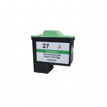 Lexmark 27 (10N0227E) Colour, High Quality Remanufactured Ink Cartridge
