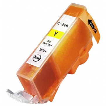 Canon CLI-526Y Yellow, High Quality Compatible Ink Cartridge