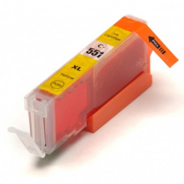 Canon CLI-551Y XL Yellow, High Yield Compatible Ink Cartridge
