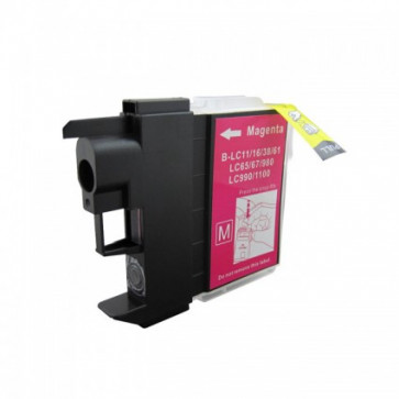 Brother LC1100 Magenta High Yield Compatible Ink Cartridge