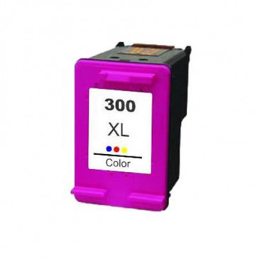 HP 300 XLCL (CC644EE) Colour, High Yield Remanufactured Ink Cartridge