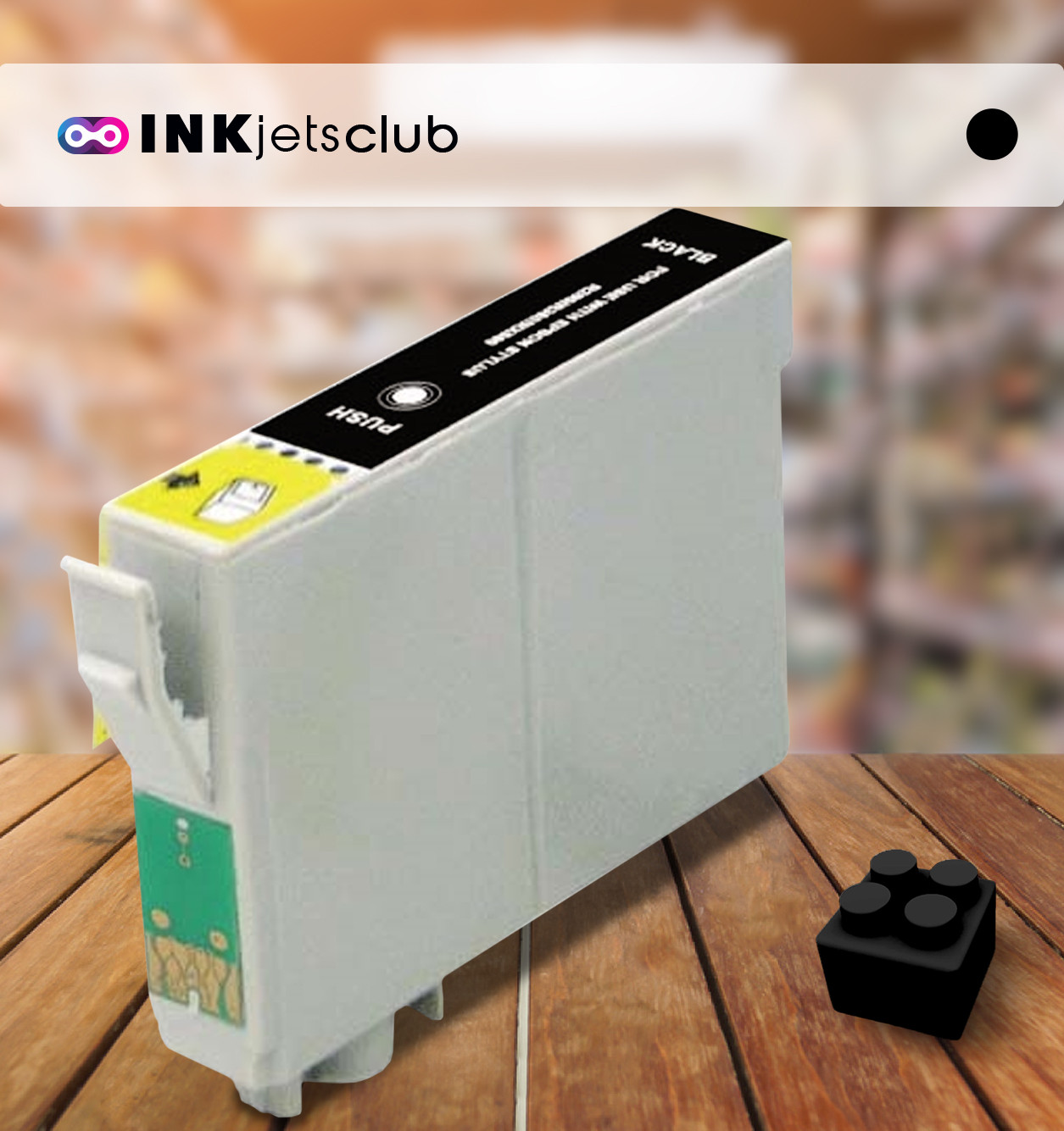 Epson T1291 (C13T12914010) Black, High Yield Remanufactured Ink Cartridge