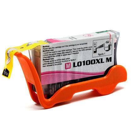 Lexmark 100 XL (14N1070E) Magenta, High Yield Remanufactured Ink Cartridge
