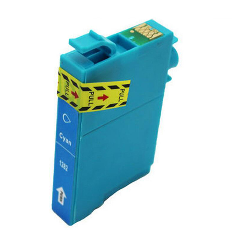 Epson T1282 (C13T12824011) Cyan, High Quality Remanufactured Ink Cartridge