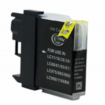 Brother LC980BK Black, High Quality Compatible Ink Cartridge