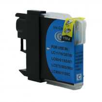 Brother LC980C Cyan, High Quality Compatible Ink Cartridge