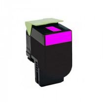 Lexmark 80C2SM0 Magenta, High Quality Remanufactured Laser Toner