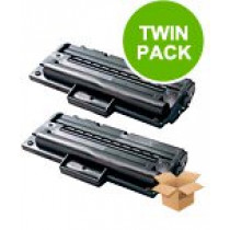 2 Multipack Samsung SCX-4216D3 High Quality  Laser Toners. Includes 2 Black