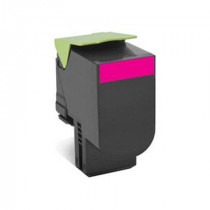 Lexmark 80C2XME Magenta, High Quality Remanufactured Laser Toner