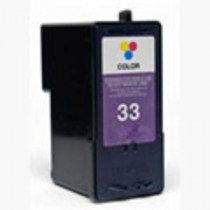 Lexmark 33 (18C0033E) Colour, High Quality Remanufactured Ink Cartridge