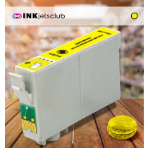 Epson T0614 (C13T06144010) Yellow, High Quality Remanufactured Ink Cartridge