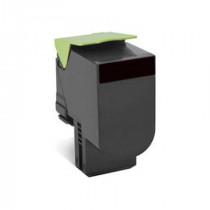 Lexmark 80C2XKE Black, High Quality Remanufactured Laser Toner