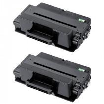 2 Multipack Samsung MLT-D205L/ELS High Quality  Laser Toners. Includes 2 Black