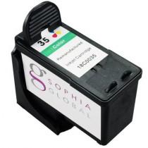 Lexmark 35 XL (18C0035E) Colour, High Yield Remanufactured Ink Cartridge