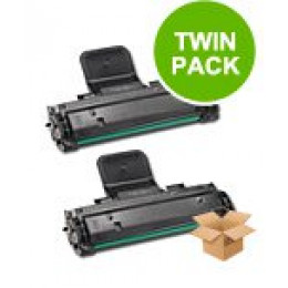 2 Multipack Samsung ML-1610D2 High Quality  Laser Toners. Includes 2 Black