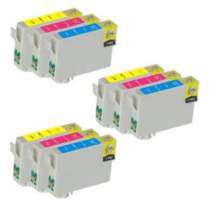 9 Multipack Epson T1006 C/M/Y High Quality Remanufactured Ink Cartridges. Includes 3 Cyan, 3 Magenta, 3 Yellow