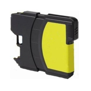 Brother LC1100 Yellow, High Yield Compatible Ink Cartridge