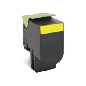 Lexmark 80C2XYE Yellow, High Quality Remanufactured Laser Toner