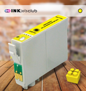 Epson 18 XL (C13T18144010) Yellow, High Yield Remanufactured Ink Cartridge