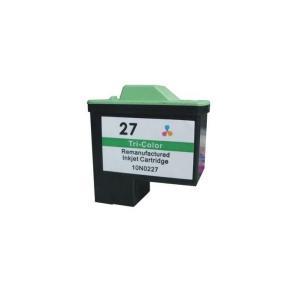 Lexmark 27 (10N0227E) Colour, High Quality Remanufactured Ink Cartridge