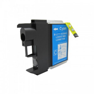 Brother LC1100 Cyan, High Yield Compatible Ink Cartridge