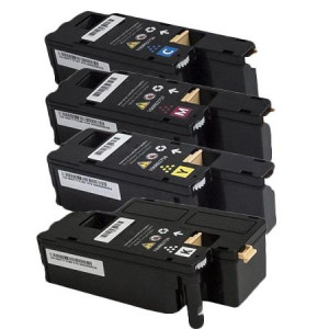 4 Multipack Xerox   106R02756-59 BK/C/M/Y High Quality Remanufactured Laser Toners. Includes 1 Black, 1 Cyan, 1 Magenta, 1 Yellow