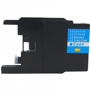 Brother LC1240C Cyan, High Quality Compatible Ink Cartridge