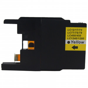Brother LC1240Y Yellow, High Quality Compatible Ink Cartridge